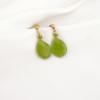 Pendientes peridotos verdes