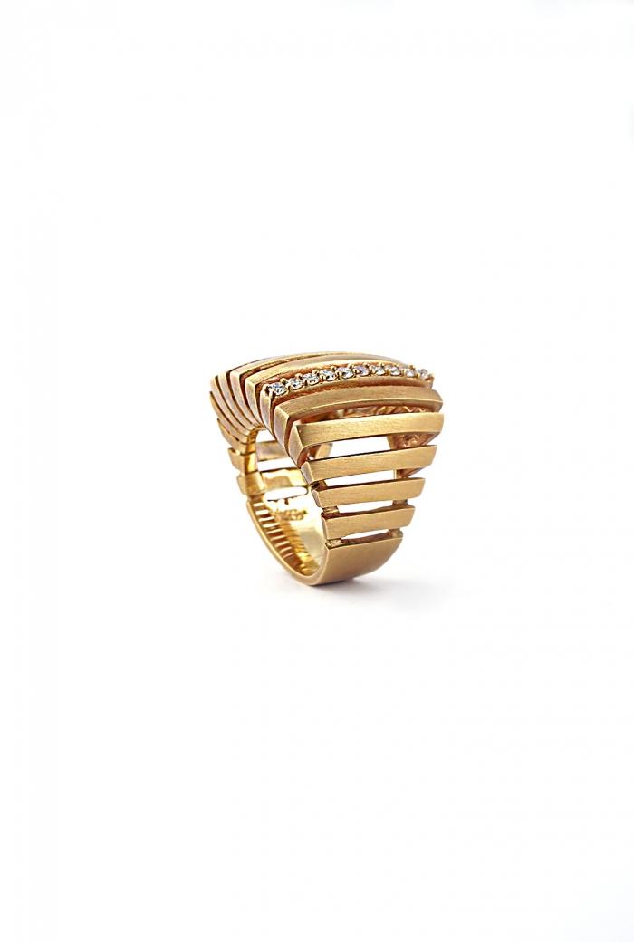 anillo oro rosa firmeza