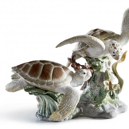 Tortugas marinas lladró