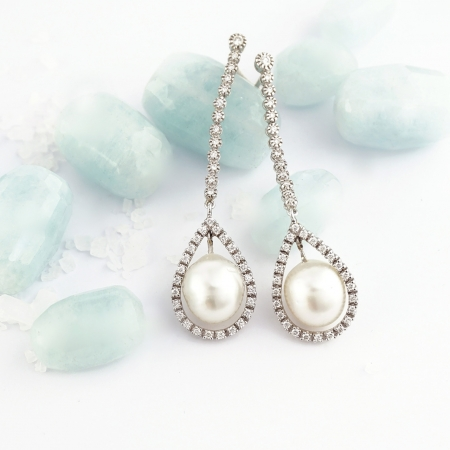 Pendientes perlas Tressor