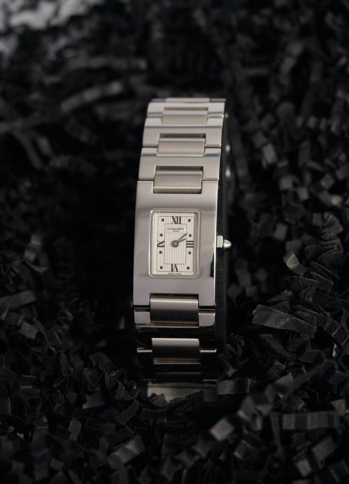 Reloj mujer de acero marca Chaumet