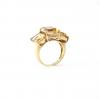 anillo oro Damiani citrinos