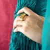 anillo Damiani oro y citrinos