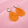 pendientes flamenca naranjas