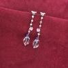 pendientes plata cuarzos amatistas tressor joyas joyeria