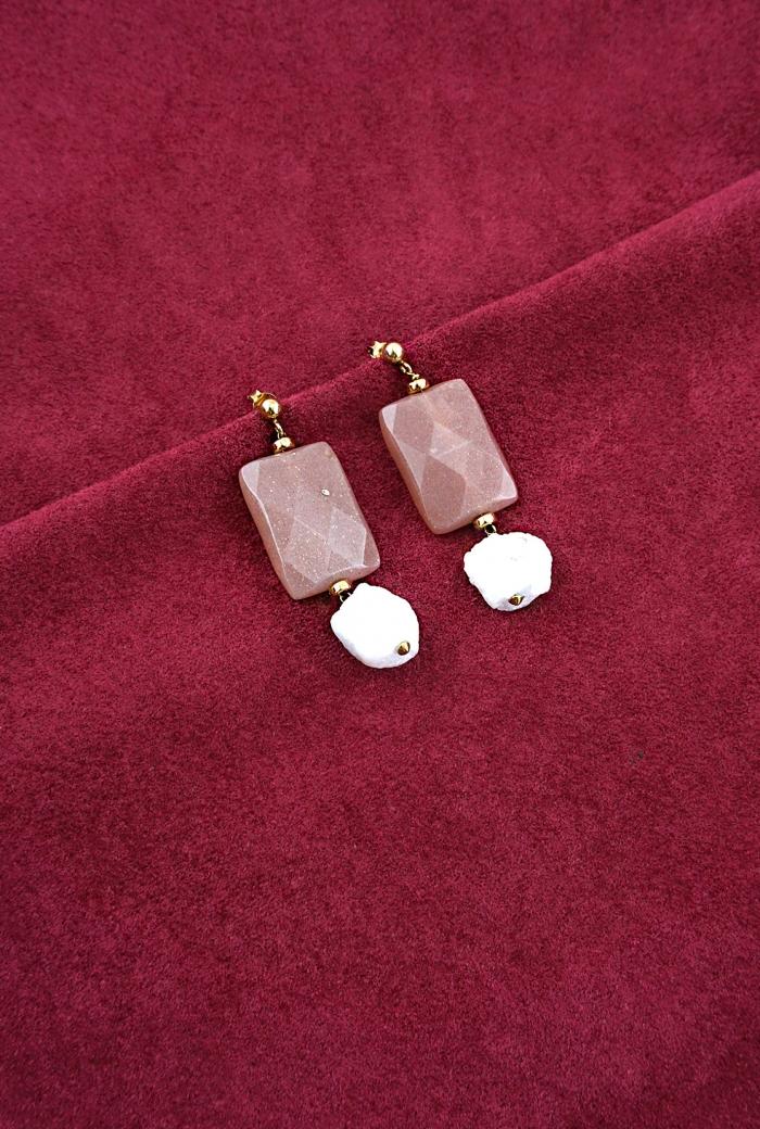 pendientes plata piedras sol hemimorfita tressor joyas